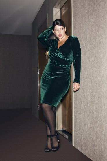 """Femme fatale"" - kjole fra Zizzi'z nye partykollektion, en kjole du kan bruge igen og igen...."