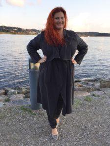 Og denne jakke - absolut favorit style i mit skab dette efterår!
